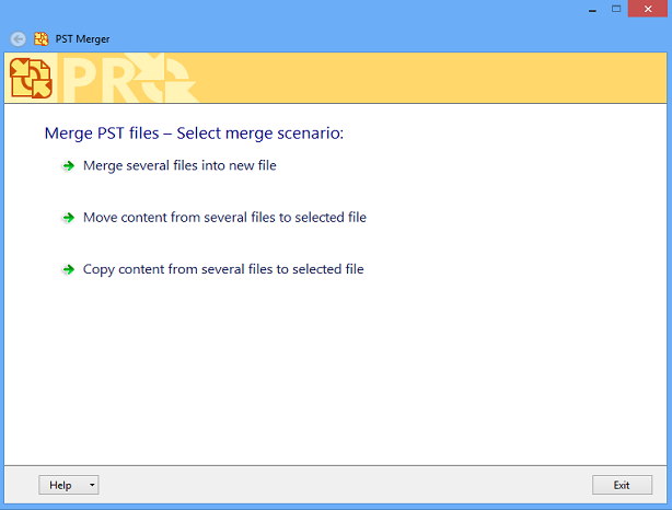 PST Merger Freeware